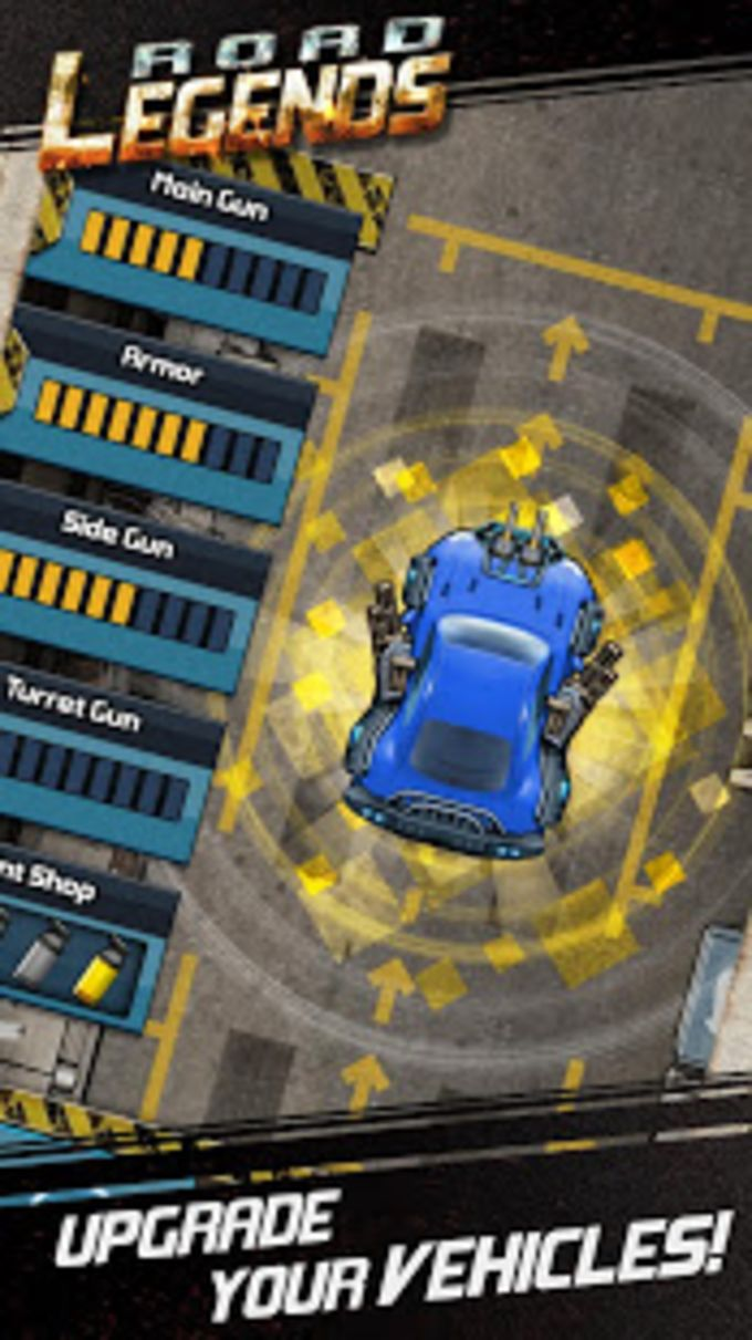 Road Legends - Car Racing Shooting Games For Free