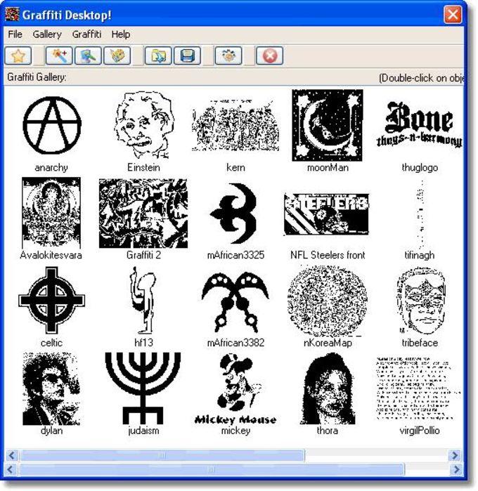 Graffiti Desktop