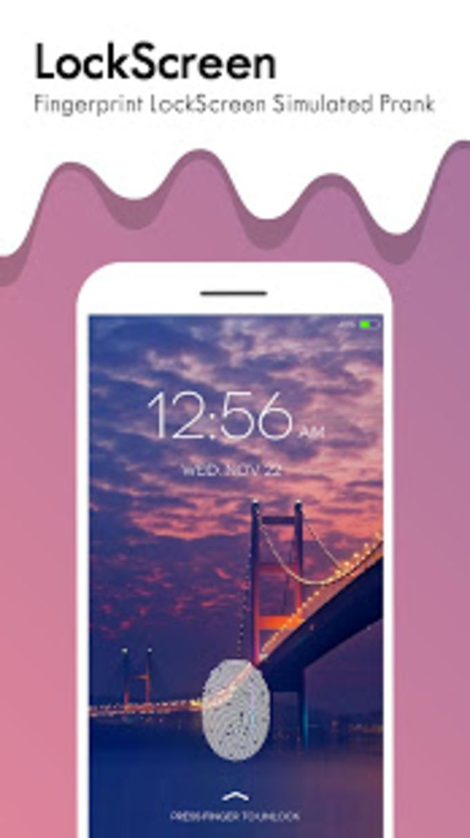 lockscreen fingerprint lock real
