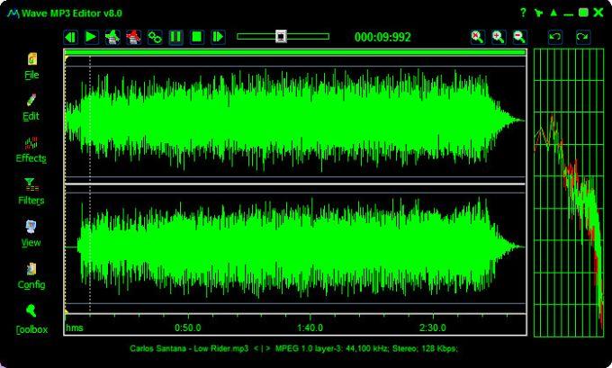 Wave MP3 Editor