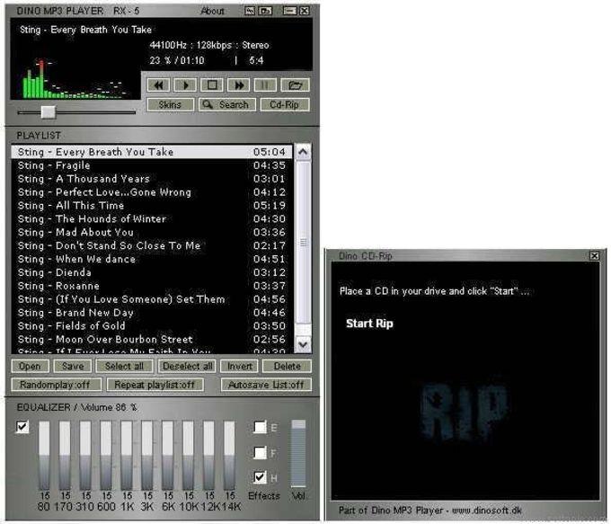 Dino MP3 Player