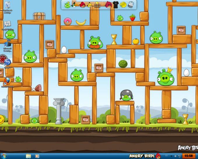 Angry Birds Skin Pack