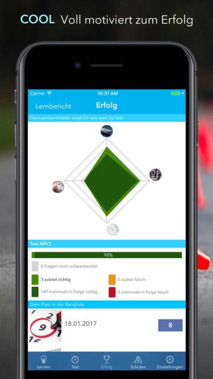 iTheorie Taxiprüfung Schweiz