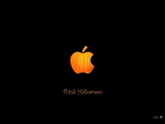 Tapeta Think Halloween