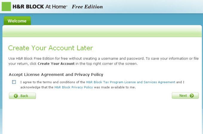H&R Block Online