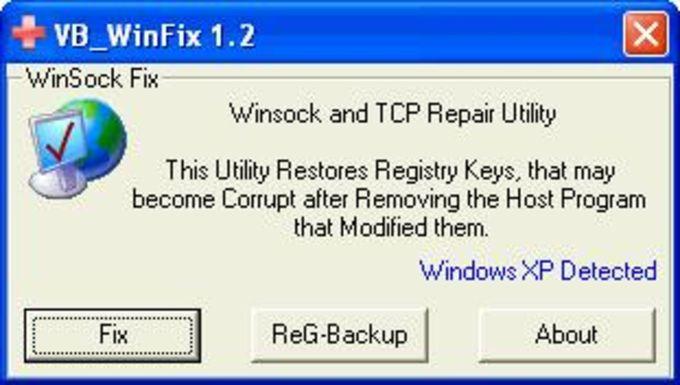 WinSockFix