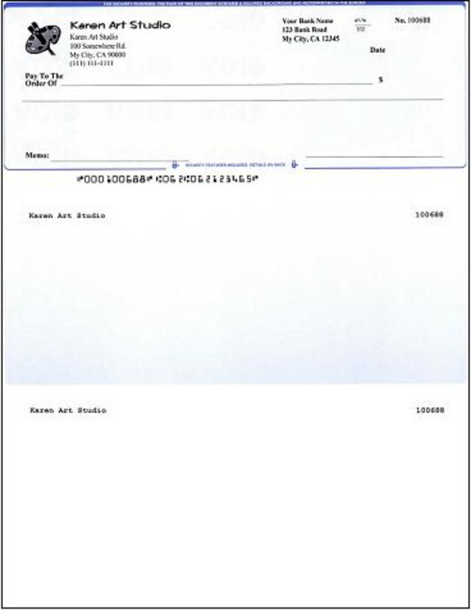 QuickBooks Check Virtual Printer