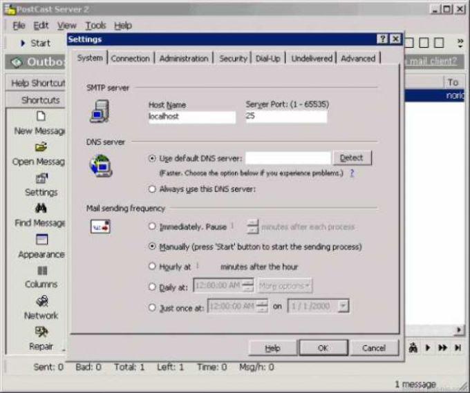 PostCast Server