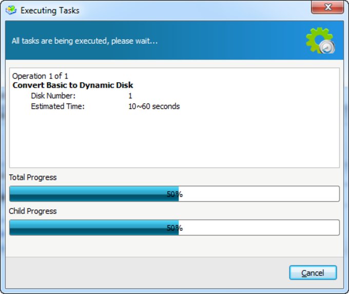 Aomei Dynamic Disk Manager