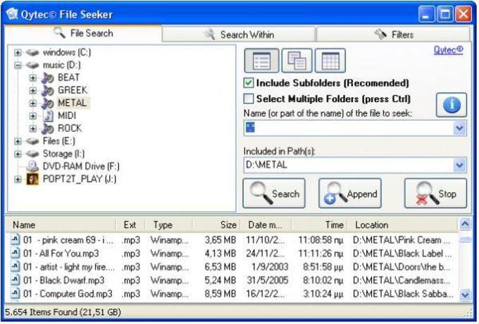 File Seeker