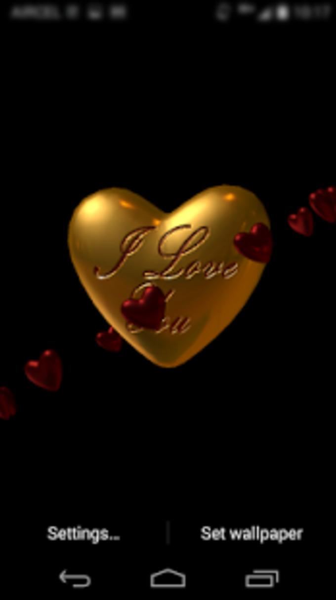 Love Valentine Heart LWP 2015