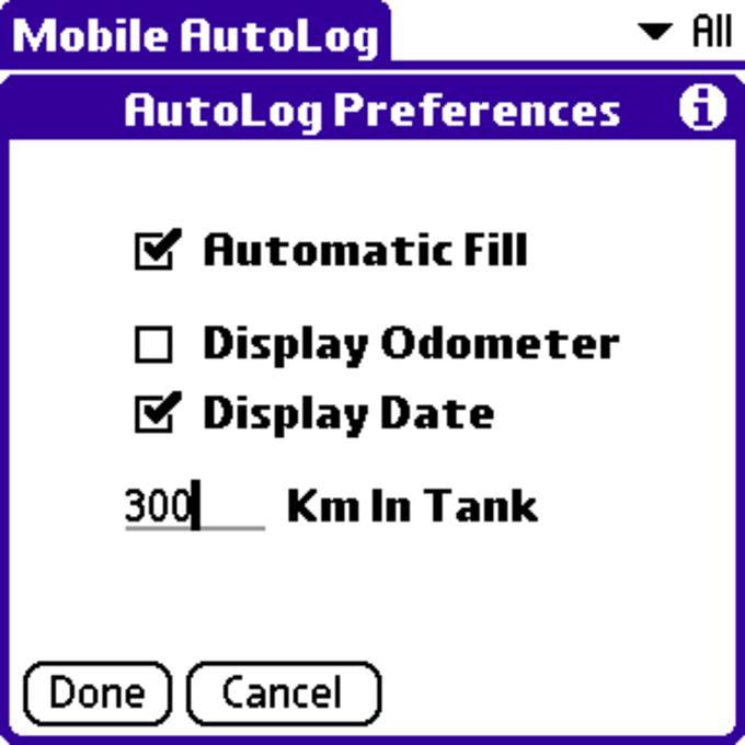 Mobile AutoLog