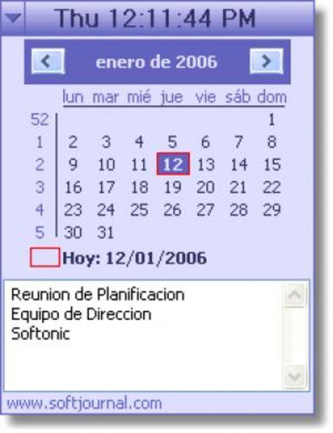 Desktop Calendar Reminder