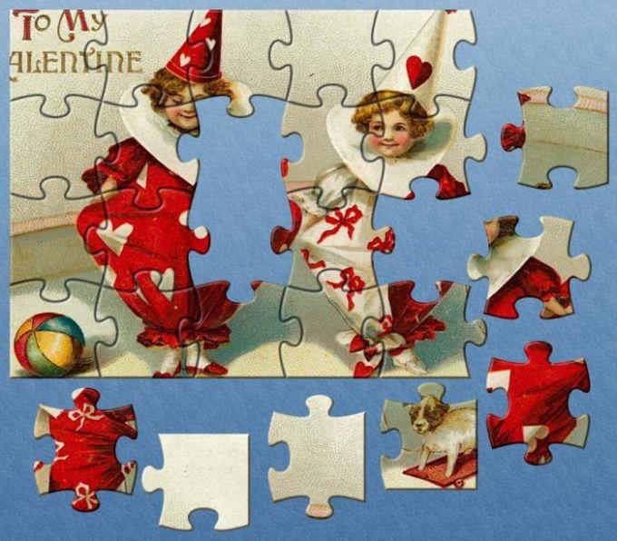 Webetiser Puzzle - Valentine Day