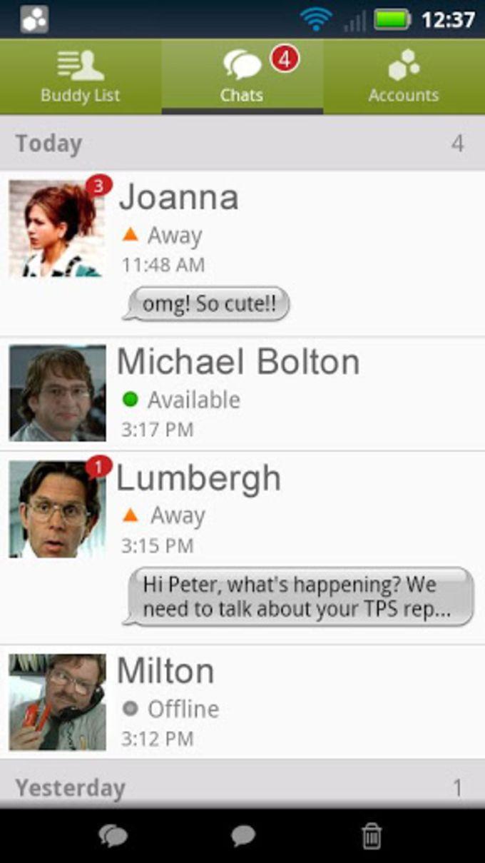 BeejiveIM para Facebook Chat