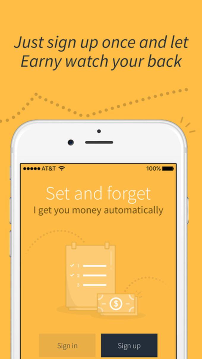 Earny - Automatic money back