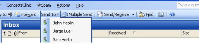 Outlook Messenger
