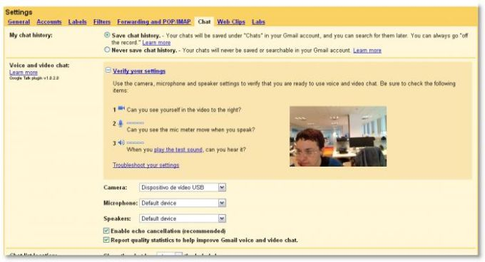 Google Voice and Video Chat