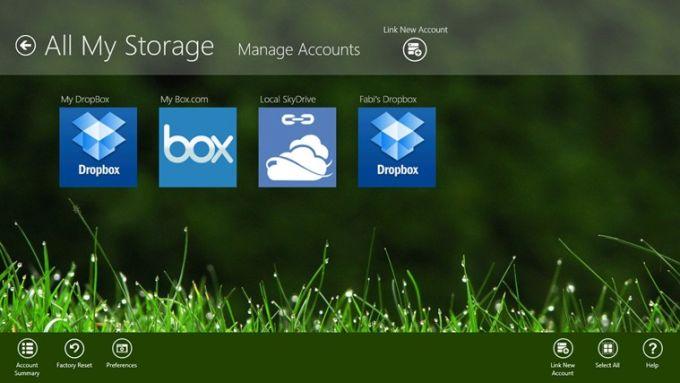 All My Storage Pro für Windows 10