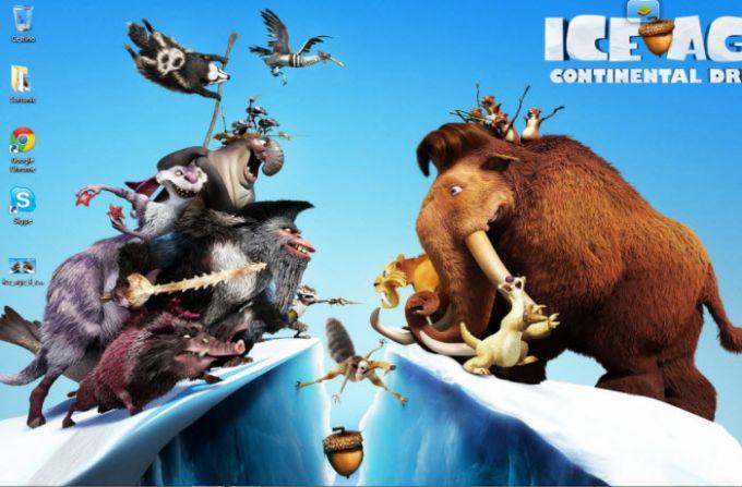 L'Era Glaciale 4 - Continenti alla Deriva Wallpaper