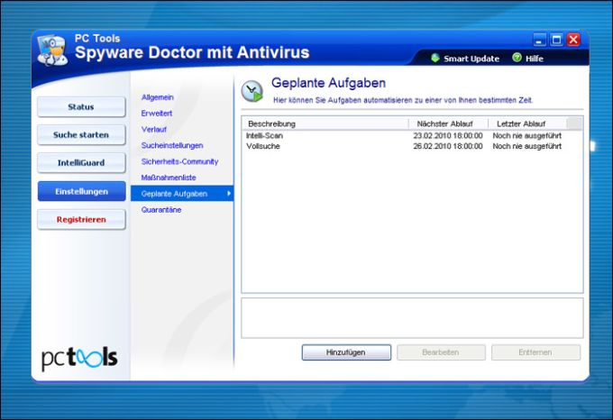 PC Tools Spyware Doctor mit Antivirus 2011