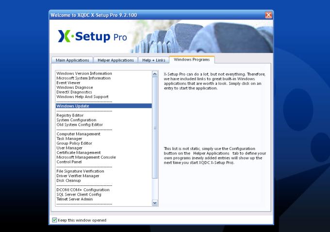 X-Setup