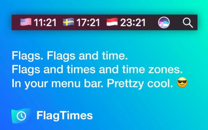 FlagTimes - The time zones app