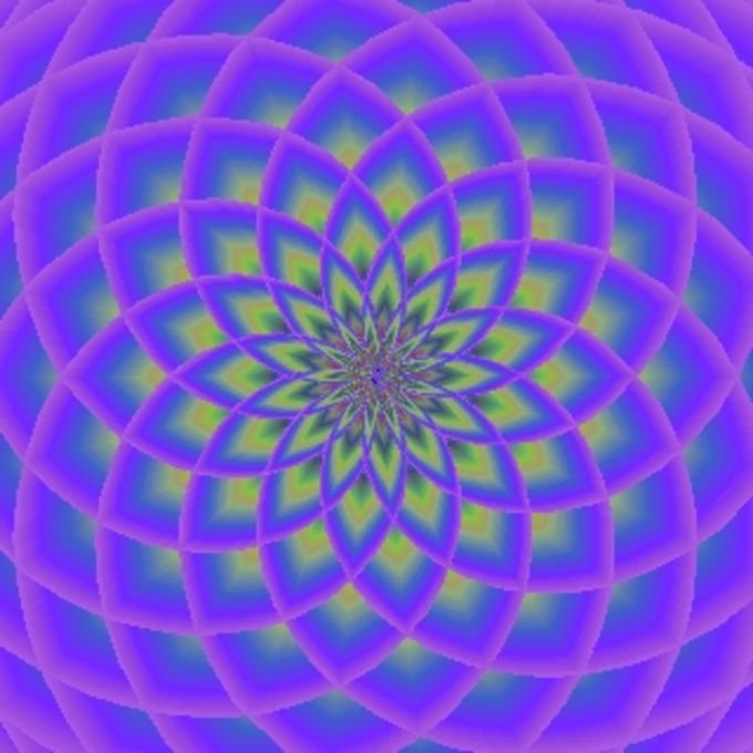 Polar lotus screensaver