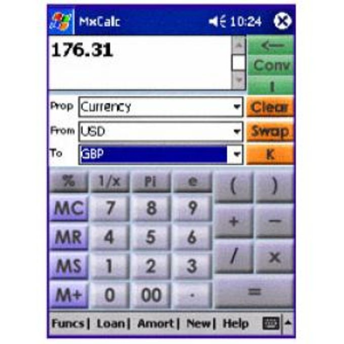 MxCalc Combo