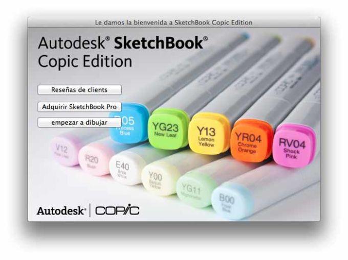 SketchBook Copic Edition