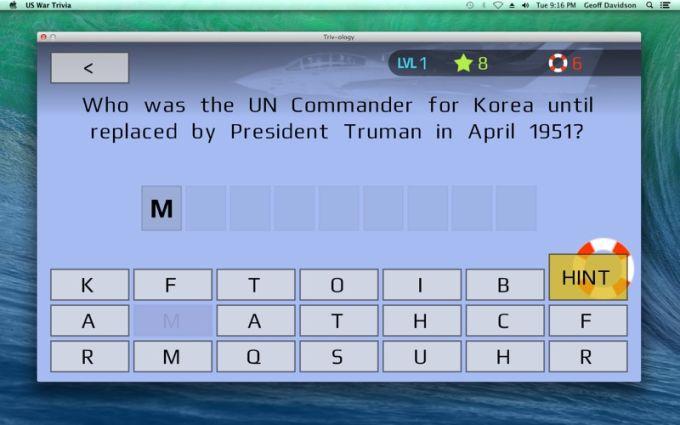 US War Trivia