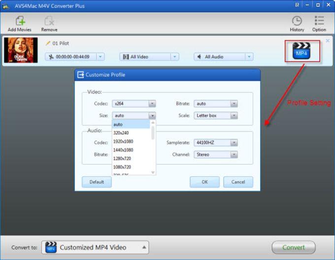 AVS4Mac M4V Converter Plus for Windows