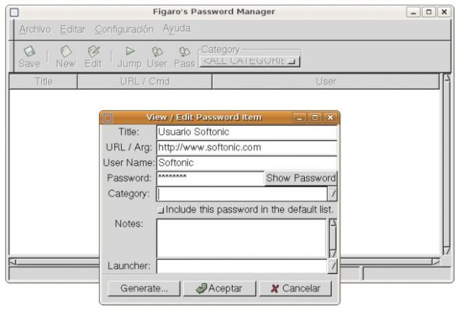 Figaro's Password Manager