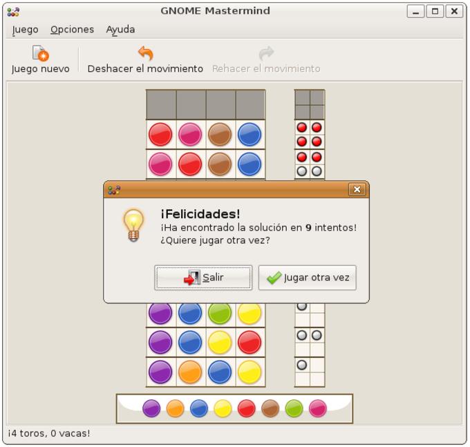 GNOME Mastermind