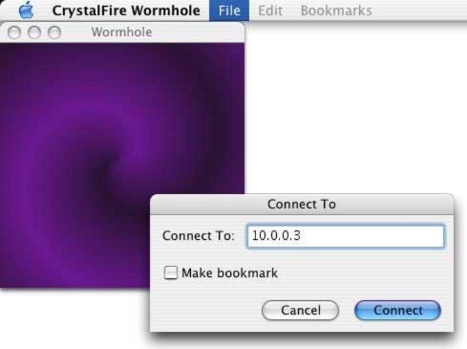 CrystalFire Wormhole