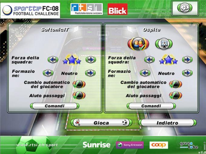 Football Challenge 2008