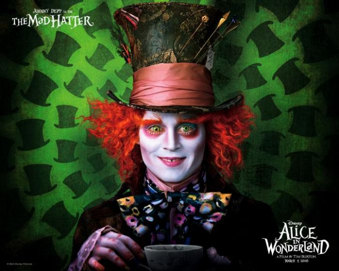 Alice in Wonderland Wallpaper: Mad Hatter
