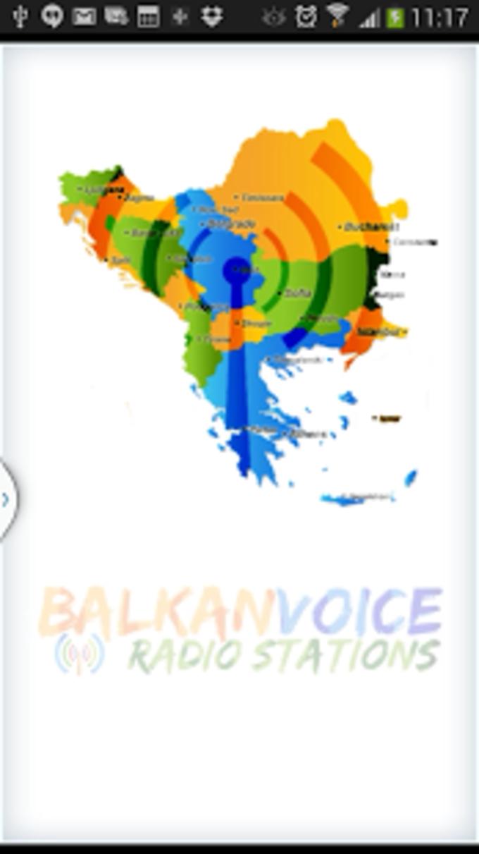 Balcanes Emisoras de Radio Voz