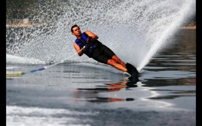 Crazy Water Skiing