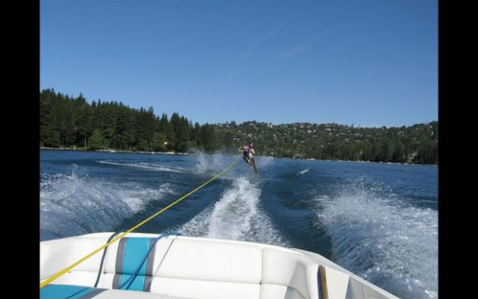 Crazy Water Skiing