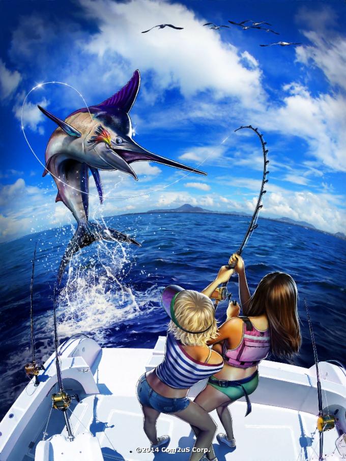 Ace Fishing - Peche en HD