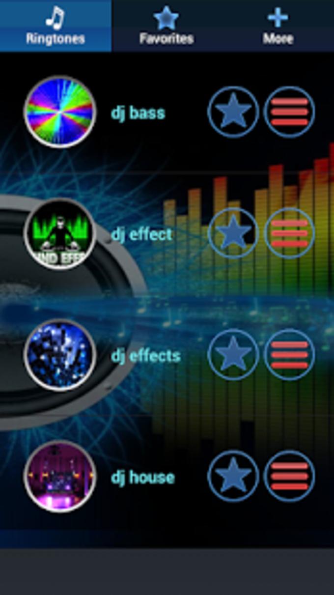 DJ Tonos - Efectos de DJ tono