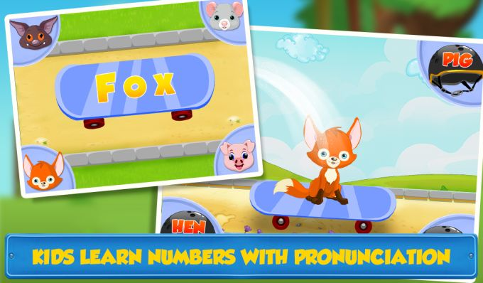 Easy To Learn ABC & Numbers