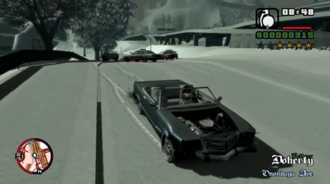 GTA IV San Andreas Snow Edition