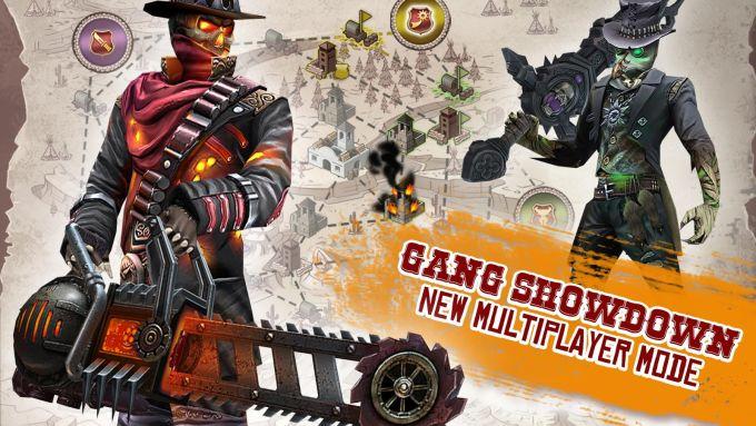 Six-Guns: Duelo de bandas