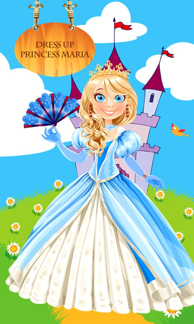 Dress Up Princess Maria