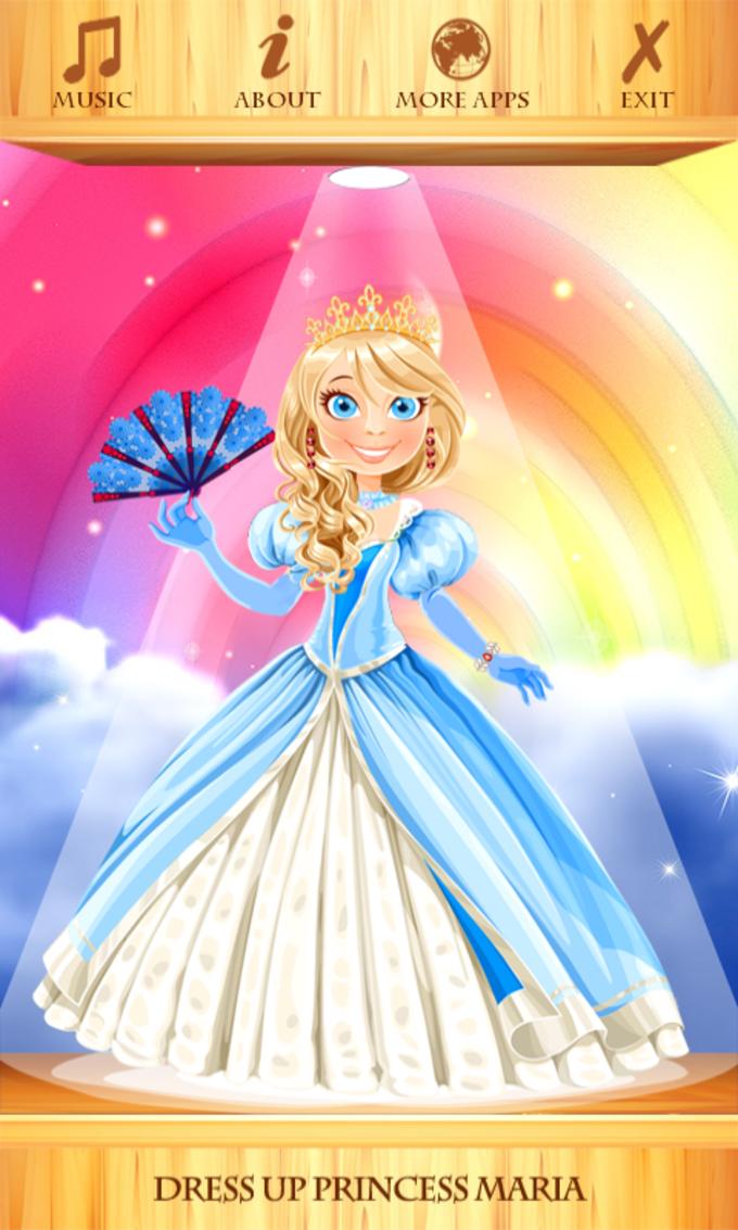Dress Up Princess Maria