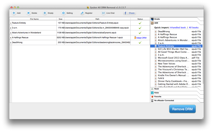 Epubor Any DRM Removal for Mac