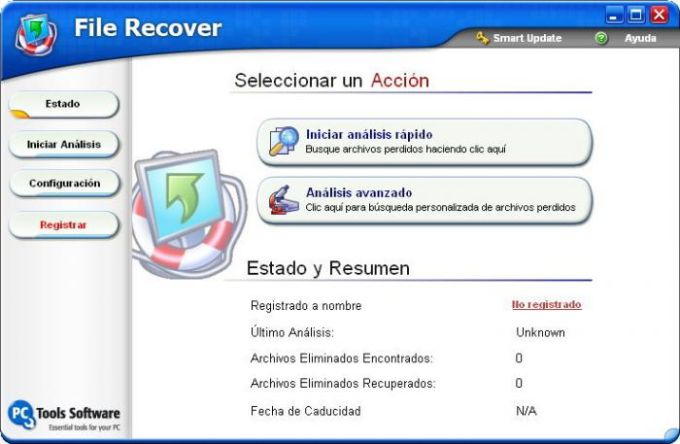 PC Tools File Recover