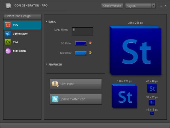 Icon Generator Pro